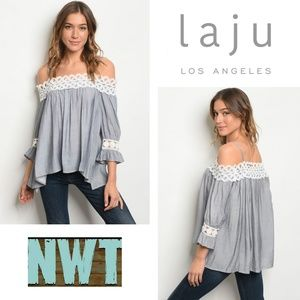 NWT Laju Los Angeles Blouse Size S/XS